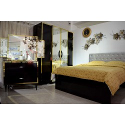 Dormitor Elegance Black