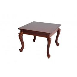 masuta de cafea pe nuanta maro din lemn , ideala pentru o camera de living sau sala de așteptare design deosebit.,