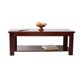 masa de cafea living sau sala de asteptare, birou din lemn pe nuanta de maro.
